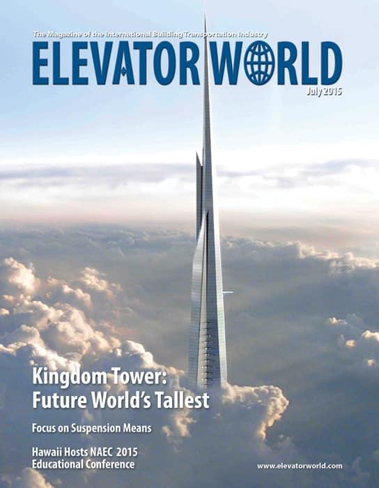 Elevator World | July 2015 Cover
