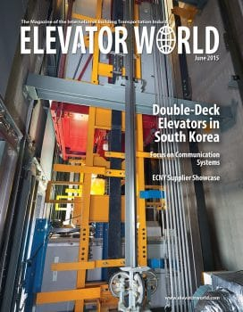 Elevator World | June 2015 Cover