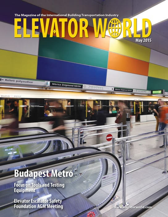 Elevator World | May 2015 Cover