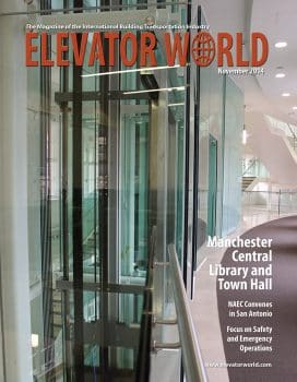 Elevator World | November 2014 Cover