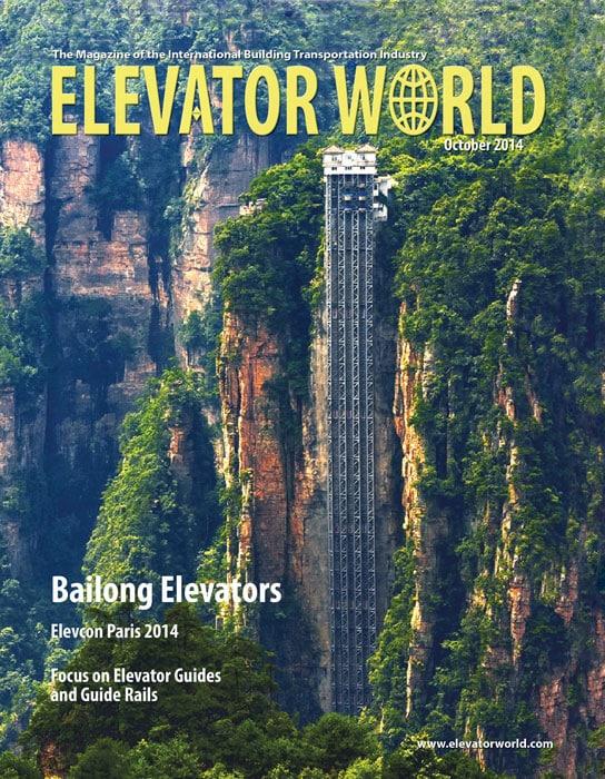 Elevator World | October 2014 Cover