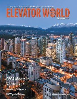 Elevator World | September 2015 Cover