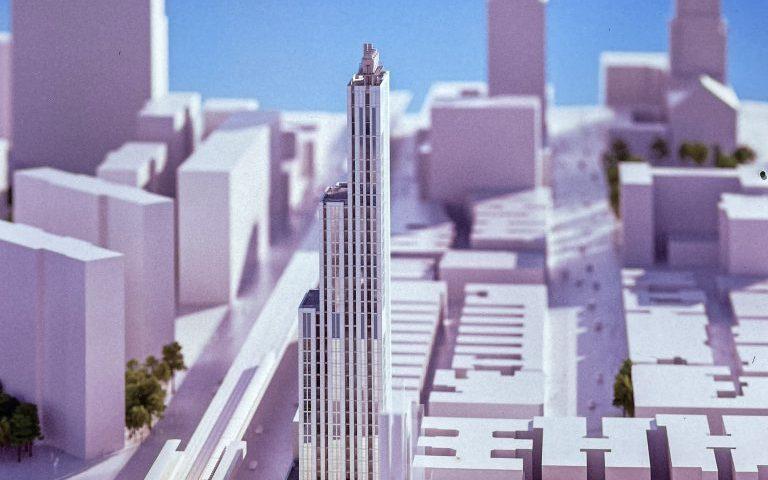 Foundation Work Begins on Columbia University Tower