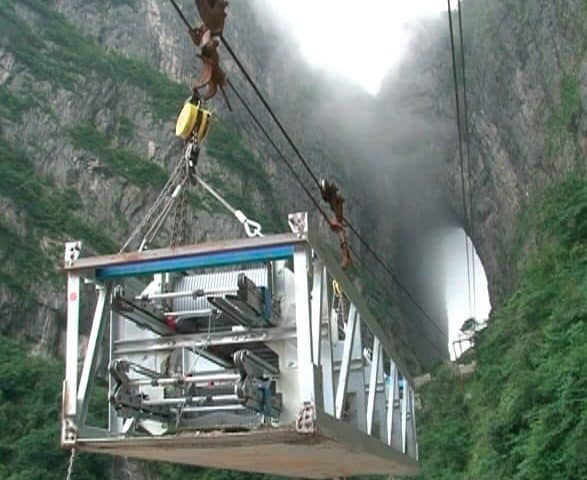 Mount-Tianmen-Tourism-Tunnel-Escalators