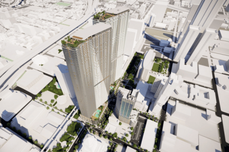 New Detailed Massing Renderings Revealed for Two Towers in Miami, Florida