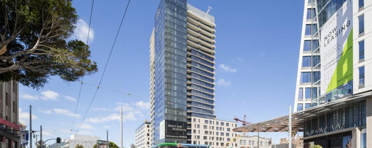 Otis provides VT, Westbank Campus adds residential tower.