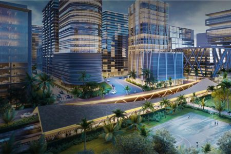 """Renderings Revealed for """"Innovation District"""" In Miami"""