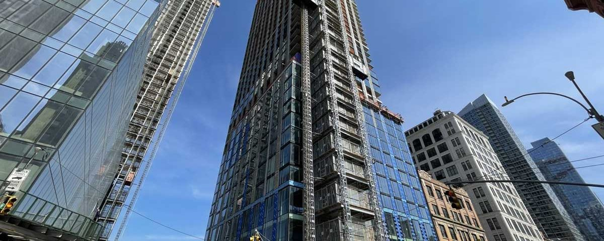 Residential Skyscraper with TKE VT Tops Out In Hudson Yards