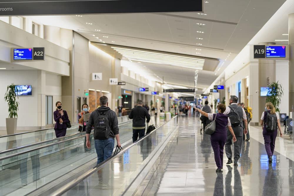 Salt Lake City Airport Schindler Moving Walks