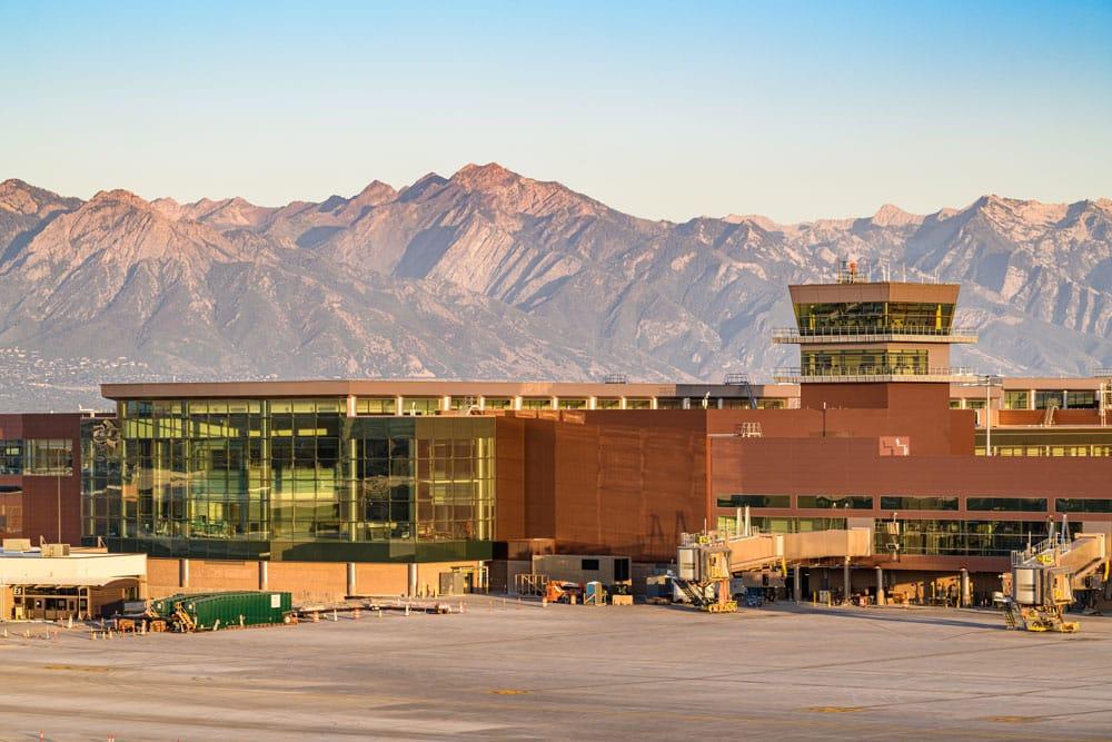 Salt Lake City International Airport Exterior