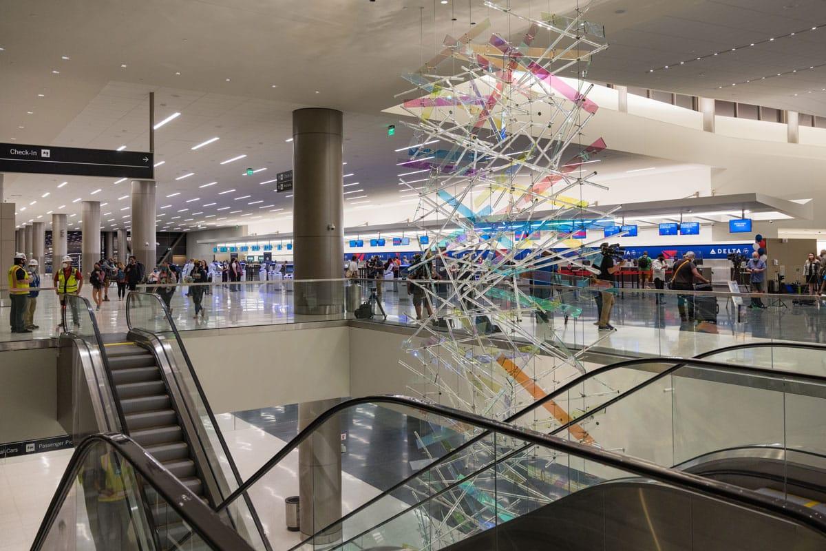 Salt Lake City Airport Takes Off