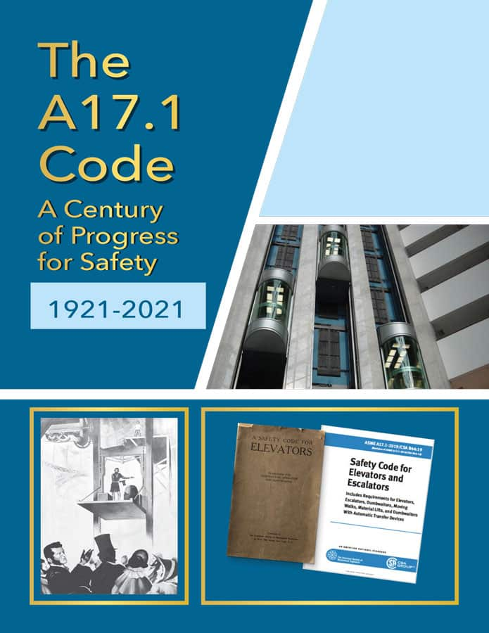 The A17.1 Code - Book Cover