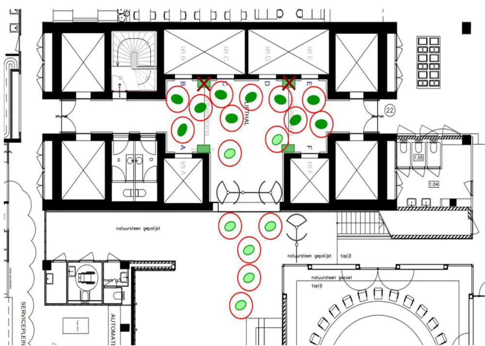 The-Use-of-Lifts-in-Offices-in-Social-Distancing-Environments---figure-4