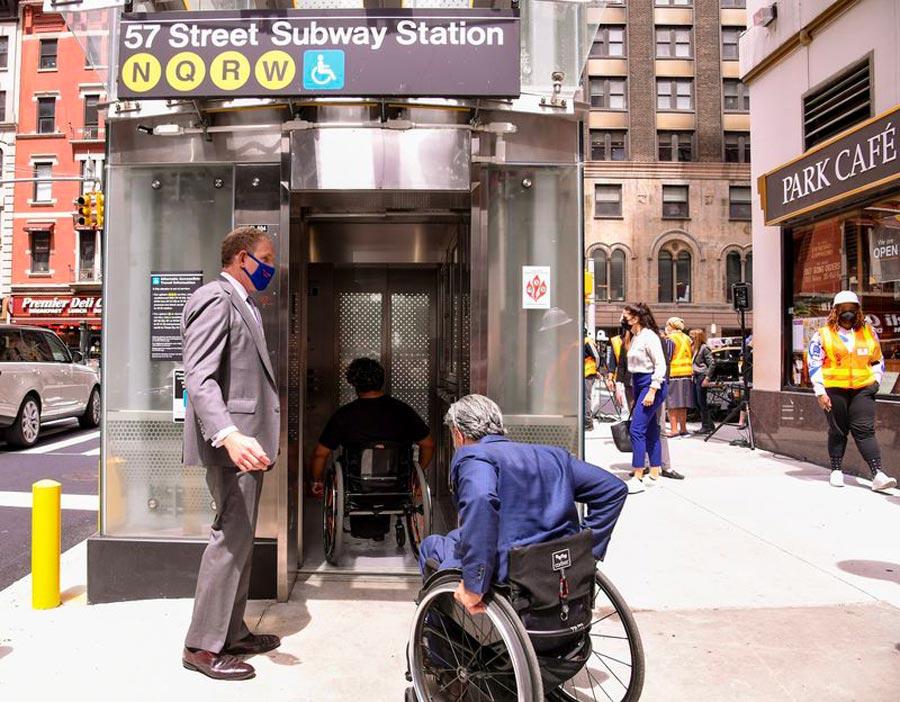 Wheelchair Subway