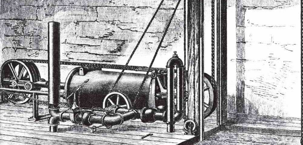 A-Houser-Horizontal-Hydraulic-Elevator-Engine-Part-One