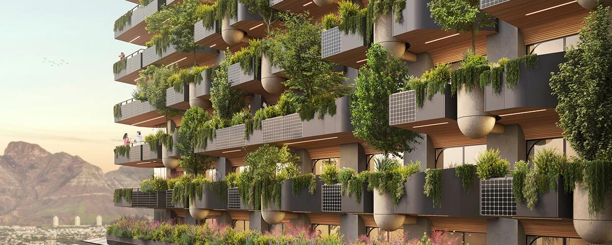 """Biophilic Tower Dubbed """"One-Of-A-Kind"""" in Cape Town, South Africa"""