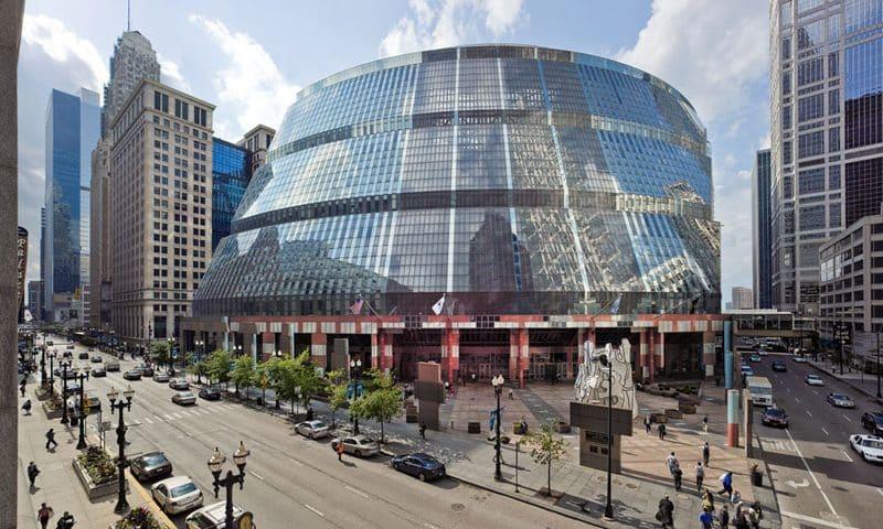 Chicago's Thompson Center Winning Designs Announced