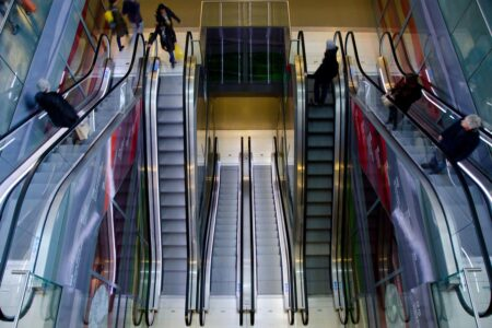 Child Falls from Escalator Handrail in China Shopping Mall