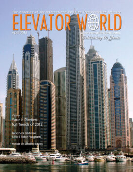 Elevator World | April 2013 Cover