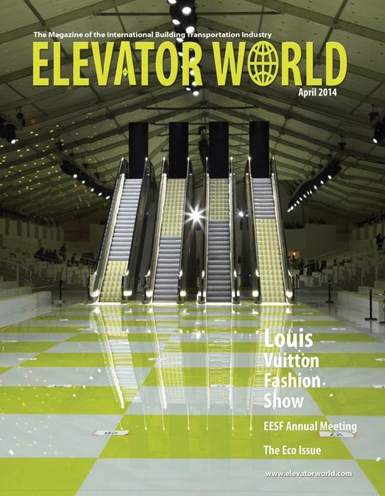Elevator World | April 2014 Cover