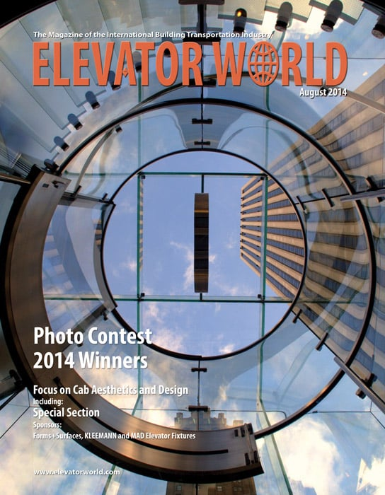 Elevator World | August 2014 Cover