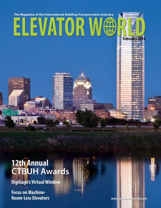 Elevator World | February 2014 Cover