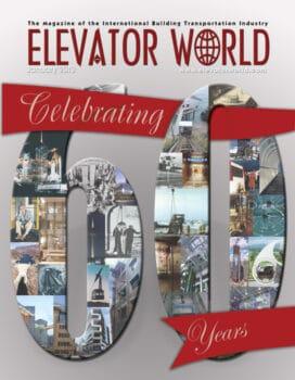Elevator World | January 2013 Cover