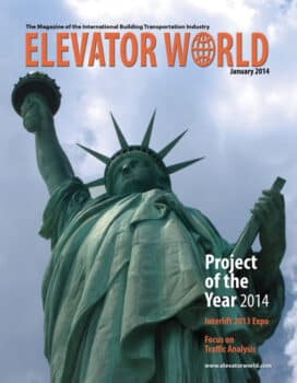Elevator World | January 2014 Cover
