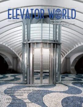 Elevator World | July 2013 Cover