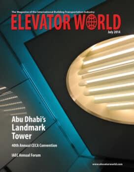 Elevator World | July 2014 Cover