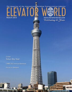 Elevator World   March 2013 Cover