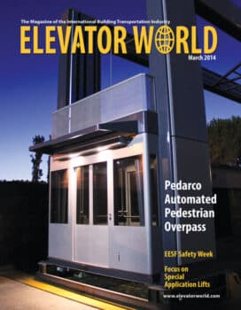 Elevator World | March 2014 Cover