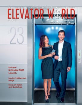 Elevator World | May 2013 Cover
