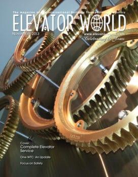 Elevator World | November 2013 Cover