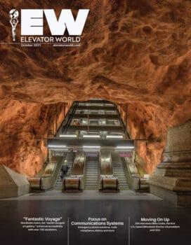 Elevator World | October 2021 Cover