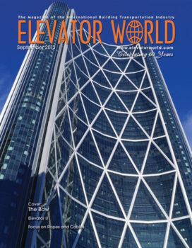 Elevator World | September 2013 Cover