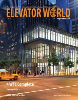 Elevator World | September 2014 Cover