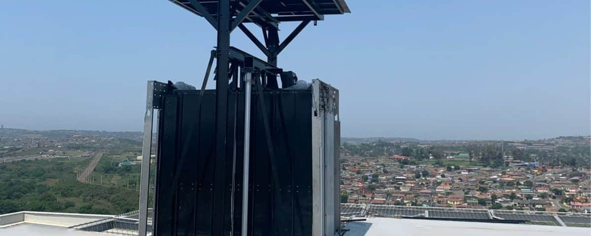 Helipad Lift Helps South African Hospital