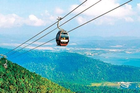 Indian City to Use Ropeway for Public Transportation
