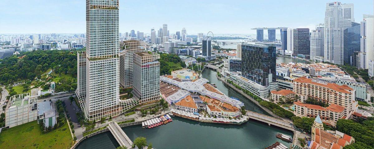 Tallest Residential Development on Singapore River Revealed