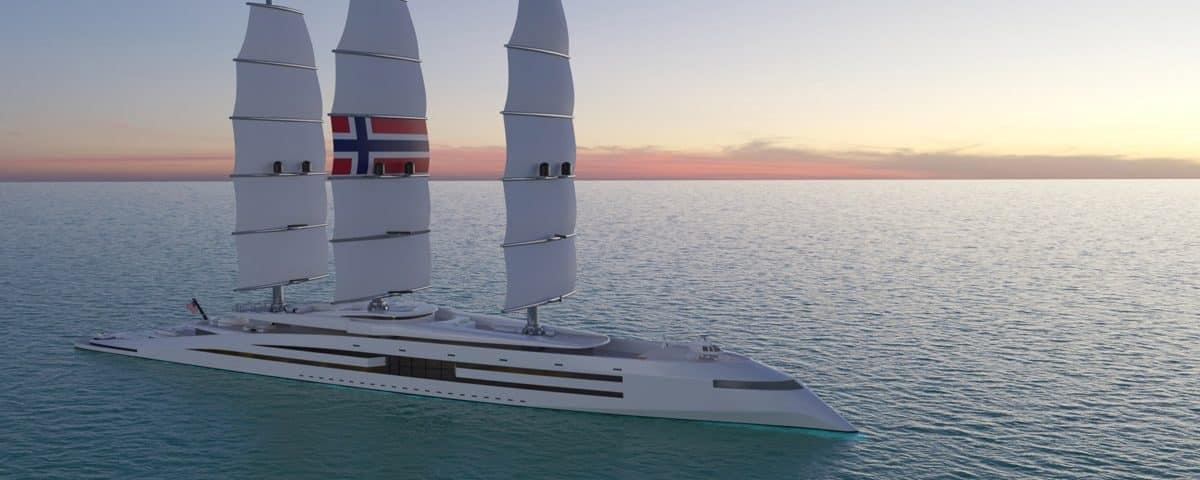 "Yacht Design Includes ""Sky Elevator"""