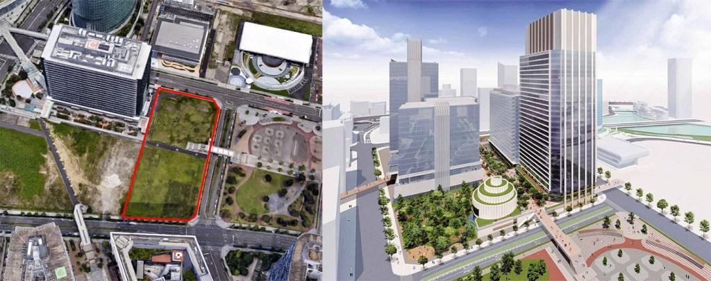 Yokohama Set for Office Tower, Museum Construction