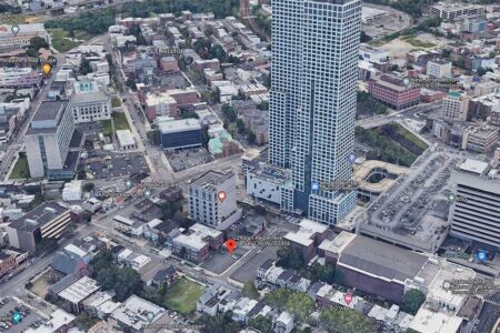 Proposal Submitted for 27-Story Tower in Jersey City