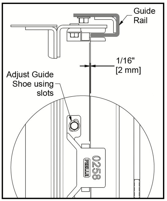 Vertical Sliding Door Maintenance - 4