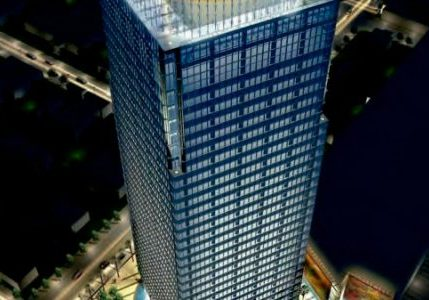 One-tall-residential-building-under-construction