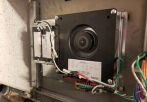 Owner Installing Ion Air Cleaners in Building Elevators
