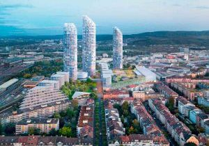 Plan-Calls-for-Three-Towers-in-Basel-Switzerland