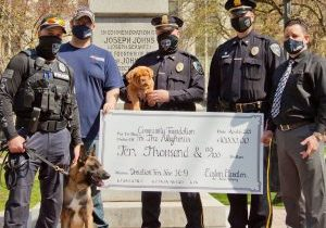 Police Dogs Offer Hope After Tragedy