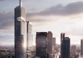 Served by Schindler VT, Jakarta's First Supertall Tops Out